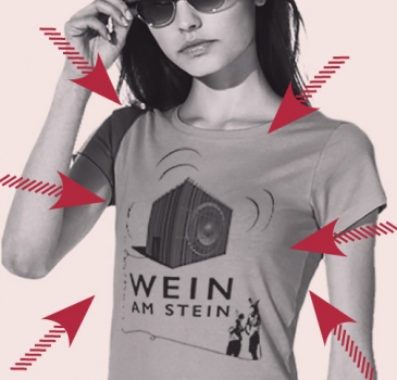 Shirt Wein am Stein